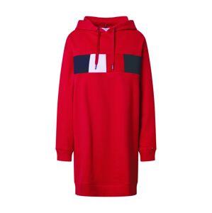 TOMMY HILFIGER Šaty 'Stella'  červená / bílá / tmavě modrá