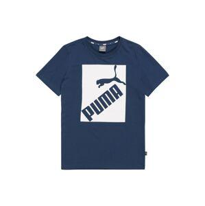 PUMA Tričko  modrá džínovina