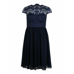 Chi Chi Curve Koktejlové šaty 'Lilou'  námořnická modř