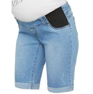 MAMALICIOUS Džíny  modrá džínovina