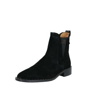 GANT Chelsea boty  černá