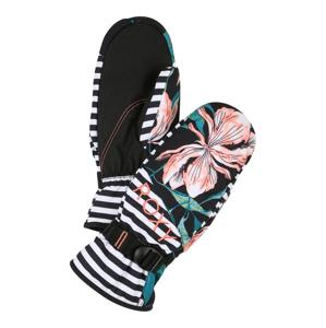 ROXY Sportovní rukavice 'JETTY SE MITT J MTTN'  černá / bílá / růžová