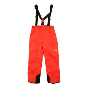 THE NORTH FACE Outodoor kalhoty 'SNOWQUEST SUSPENDER'  oranžově červená