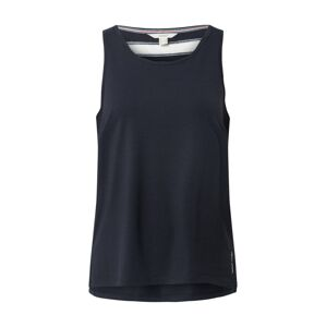 ESPRIT SPORT Sportovní top  tmavě modrá / bílá