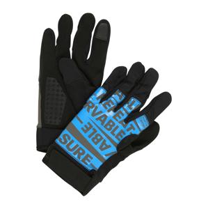 REEBOK Sportovní rukavice  tmavě šedá / antracitová / světlemodrá