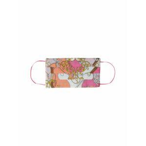 CODELLO Látková rouška 'Cover Up'  pink / mix barev