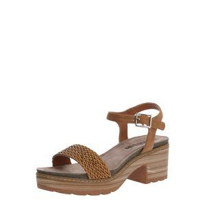 Refresh Páskové sandály  velbloudí