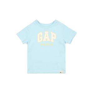 GAP Tričko  světlemodrá / bílá / žlutá