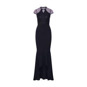 Lipsy Společenské šaty 'WS BLK SQN SCLP MAXI'  černá