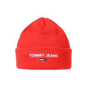 Tommy Jeans Čepice  červená třešeň / bílá / námořnická modř
