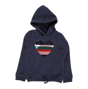STACCATO Mikina  tmavě modrá / kobaltová modř / pastelově růžová / smaragdová / červená