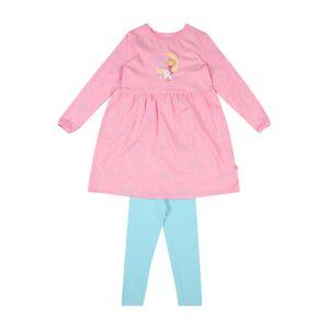 SCHIESSER Pyžamo  žlutá / tyrkysová / růžová / bílá