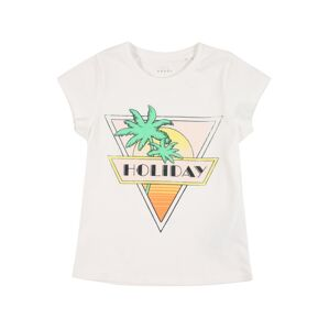 NAME IT Tričko 'Veen'  bílá / žlutá / oranžová / pastelově růžová / mix barev