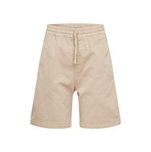 Carhartt WIP Kalhoty 'Lawton Short'  béžová