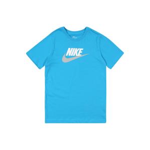 Nike Sportswear Tričko 'B NSW TEE'  modrá