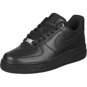 Nike Sportswear Tenisky 'Air Force 1 '07 W'  černá