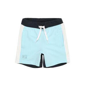 NAME IT Kalhoty  světlemodrá / tmavě modrá / bílá