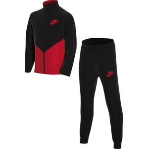 Nike Sportswear Joggingová souprava  černá / světle červená