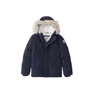 Abercrombie & Fitch Zimní bunda 'ADVENTURE'  námořnická modř