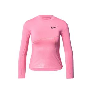 NIKE Funkční tričko  zlatá / pink / černá