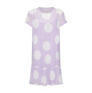 Review Šaty 'MESH DOT DRESS D-KLEID'  pastelová fialová / bílá