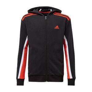 ADIDAS PERFORMANCE Sportovní mikina 'Bold'  černá / bílá / oranžově červená