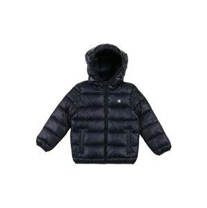 Champion Authentic Athletic Apparel Zimní bunda  bílá / marine modrá