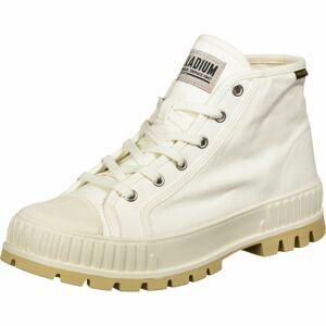 Palladium Sportovní šněrovací boty 'Mid OG'  krémová