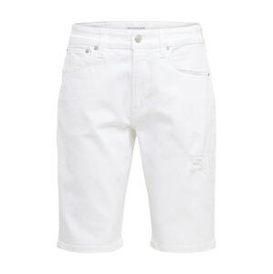 Calvin Klein Jeans Džíny  bílá džínovina