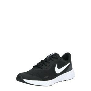 NIKE Sportovní boty 'Revolution 5'  bílá / černá