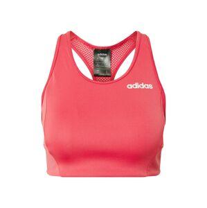 ADIDAS PERFORMANCE Sportovní podprsenka 'W D2M BT'  bílá / pink