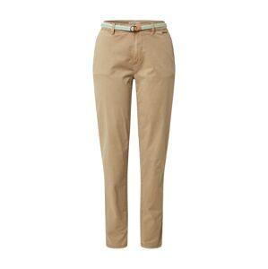 ESPRIT Chino kalhoty  béžová