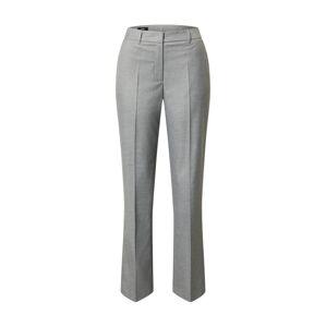 s.Oliver BLACK LABEL Kalhoty s puky  šedý melír