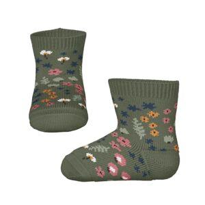 NAME IT Ponožky 'Bana'  khaki / starorůžová / oranžová / bílá / námořnická modř
