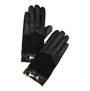 River Island Prstové rukavice 'SNAFFLE'  černá