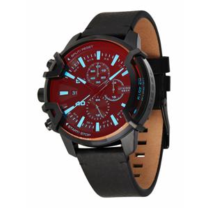 DIESEL Analogové hodinky 'Griffed'  černá