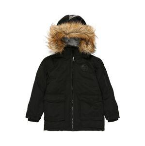 STACCATO Zimní bunda  černá / bílá