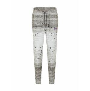 HUGO Kalhoty 'Donaco'  bílá / šedý melír