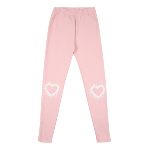 GAP Kalhoty  pink / bílá
