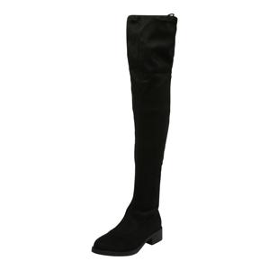 Miss Selfridge Kozačky nad kolena 'OLIVIA'  černá