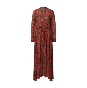 LAUREL Šaty  červená / mix barev