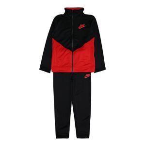 Nike Sportswear Joggingová souprava  červená / černá