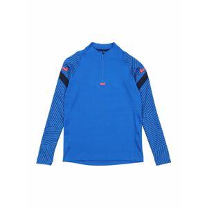 NIKE Sportovní mikina 'Strike'  světle červená / námořnická modř / modrá