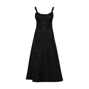 POSTYR Šaty 'VICTORIA'  černá