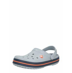 Crocs Pantofle 'Crocband'  námořnická modř / světle šedá / oranžová