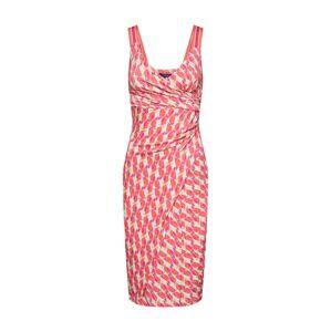 LAUREL Koktejlové šaty  červená
