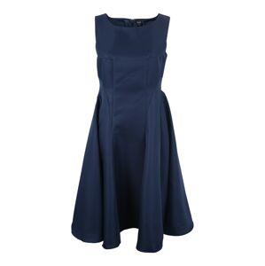 Chi Chi Curve Koktejlové šaty 'ANTHEA'  modrá