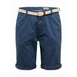 TOM TAILOR DENIM Chino kalhoty  modrá