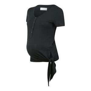 MAMALICIOUS Tričko 'FIA LIA'  černá