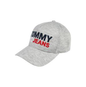 Tommy Jeans Čepice 'TJU FLOCK CAP'  světle šedá